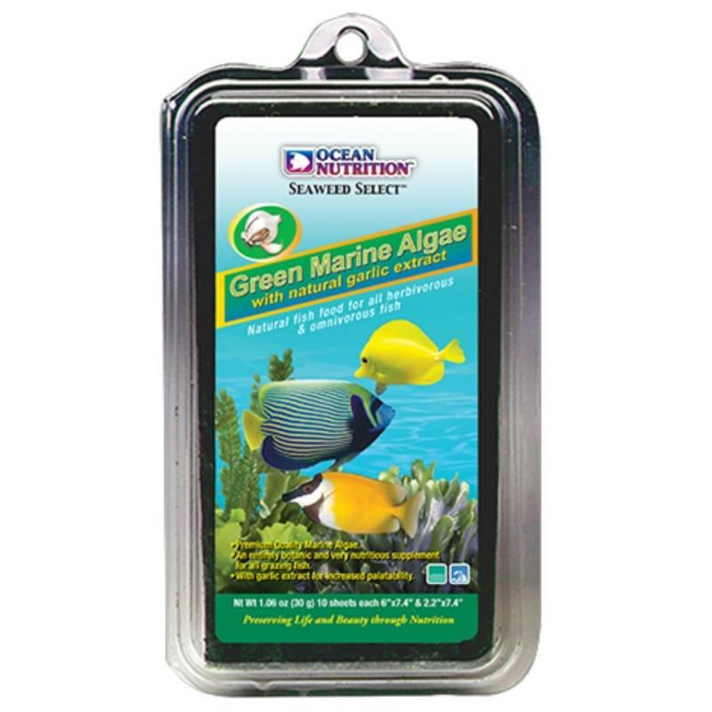 GREEN Seaweed 12 g. - alga liofilizada verde. Ocean Nutrition.