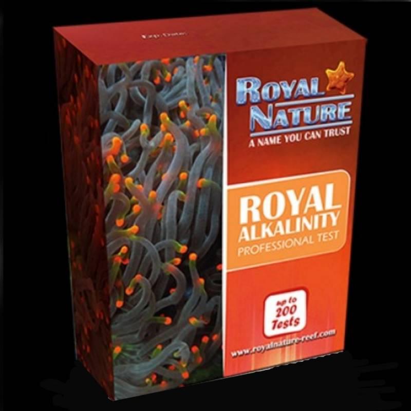 Test de Alkalinidad KH Royal Nature