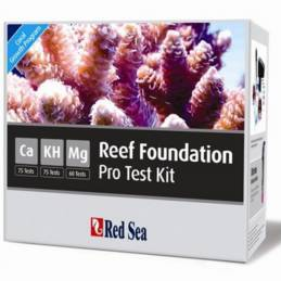 Reef Foundation Pro Multi Test kit Ca-Alc-Mg Red Sea