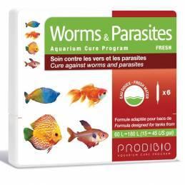 Worms  Parasites agua dulce Prodibio