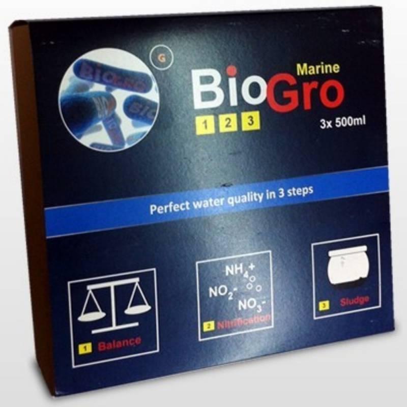 BioGro MARINE 1.2.3 - 3x500 ml.