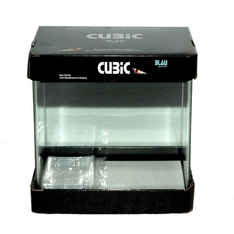 Acuario Cubic 20x20x25 cm Blau