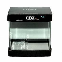 Acuario Cubic 30x30x35 cm Blau