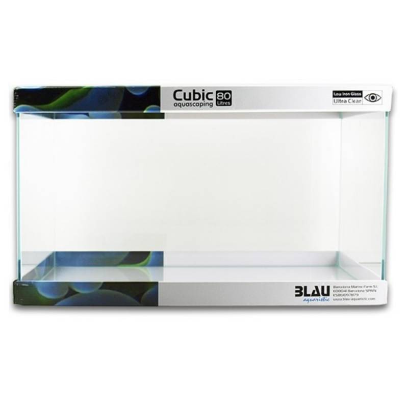 Cubic Aquascaping 80litros 62x36x36 cm