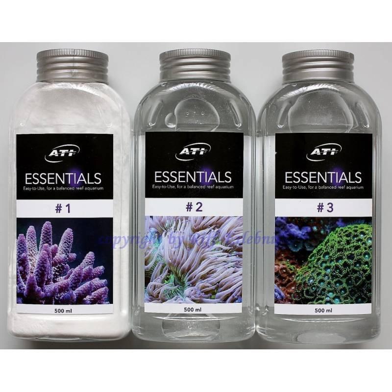 Essentials set 3x500ml ATI