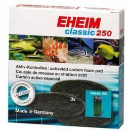EHEIM 2628130 Esponjas de carbón Classic 250