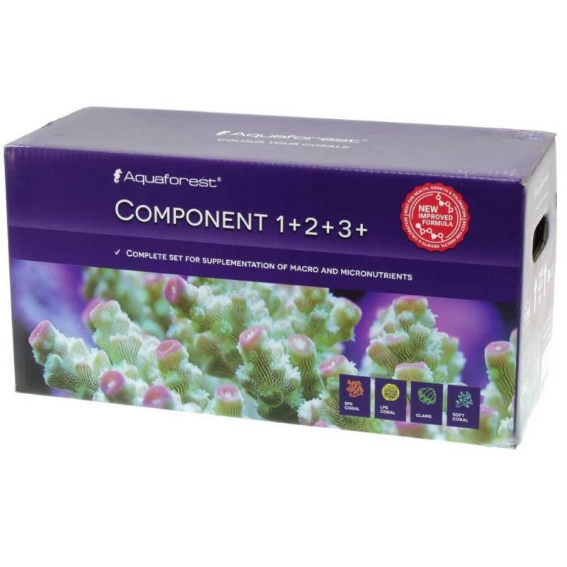 Component +1, +2, +3  3X5 litros. Aquaforest