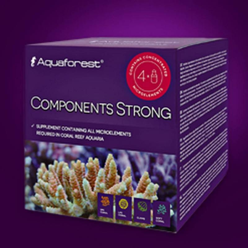COMPONENTS STRONG Aquaforest