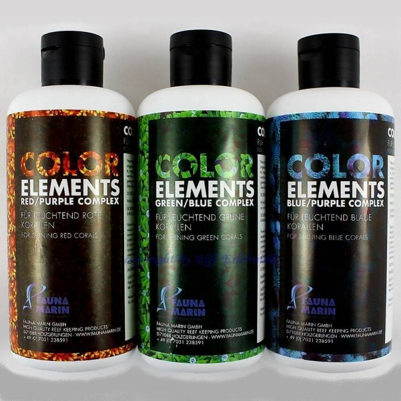 Pack Color Elements 3 x 500ml