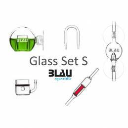 Glass Set Blau